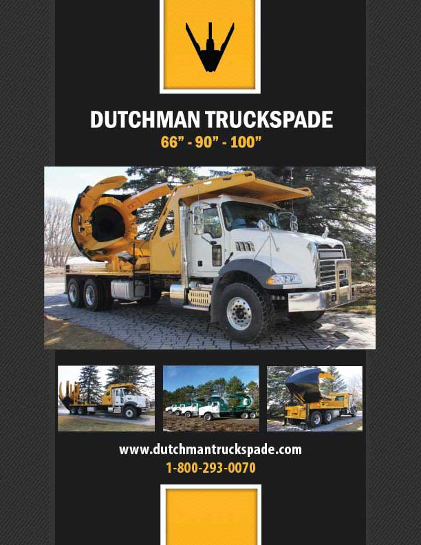 Curved Blade Truck Spade Brochure