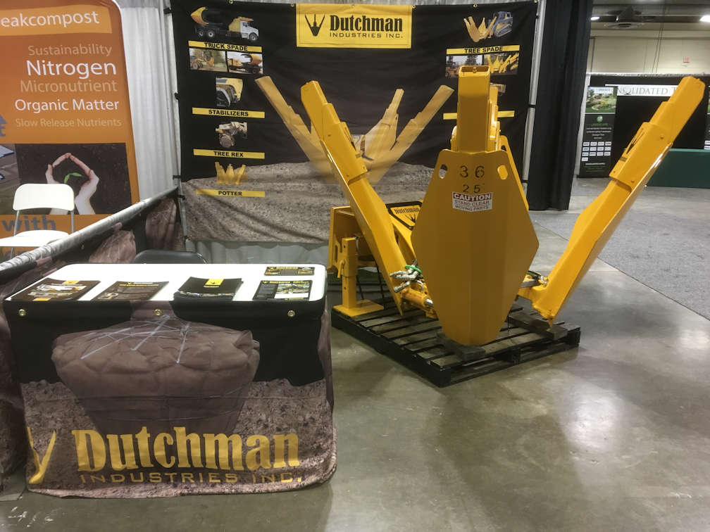 Dutchman booth at GIS